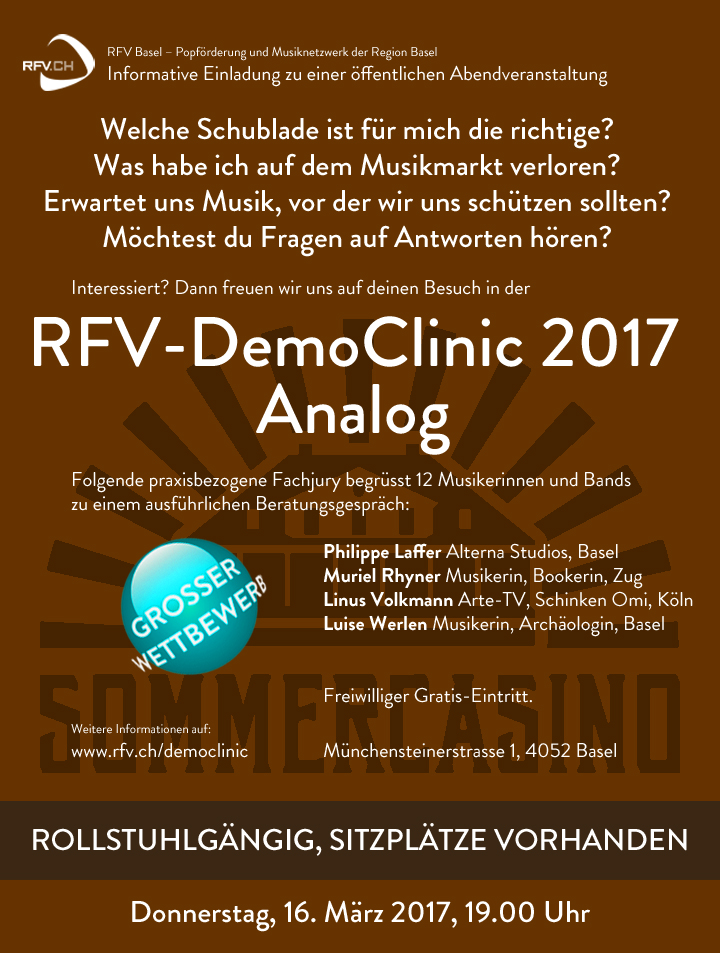 RFV-DemoClinic-Analog-2017-Flyer